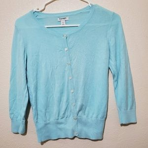 Old Navy • Baby Blue Cardigan